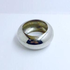 ALEXIS BITTAR liquid silver bracelet #185